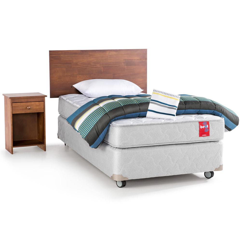 box americano 1 1 2 plazas textil maderas rosen corona. Black Bedroom Furniture Sets. Home Design Ideas