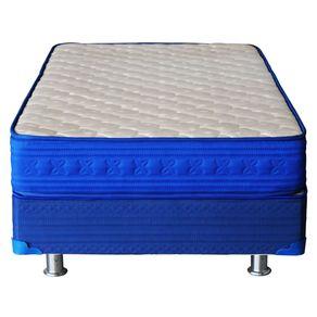 Box Americano 1 Plaza Mantahue Azul(90x190)