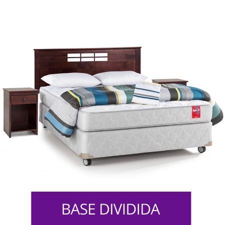 Box-Americano-Base-Normal-2-Plazas-Rosen---Set-Textil---Set-de-Maderas-