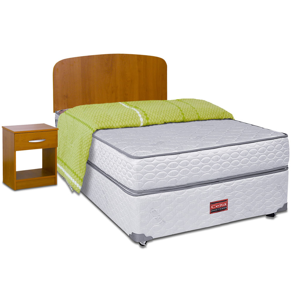 Cama americana 1 1 2 plazas celta cobertor set de for Futon de 2 plazas
