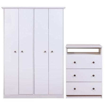 Combo-Closet-4-Puertas--Comoda-TV-20---Cic-