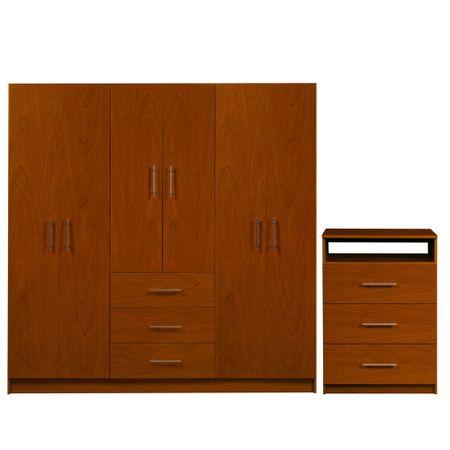 Combo-Closet-6-Puertas-3-Cajones---Comoda-Cic-