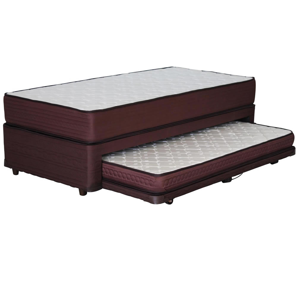 Div n cama 1 plaza mantahue therapedic corona for Precio cama 1 plaza