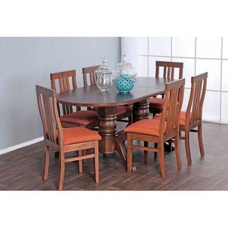 Mueble-de-Cocina-6-sillas-Piña-Terracota-Cid-