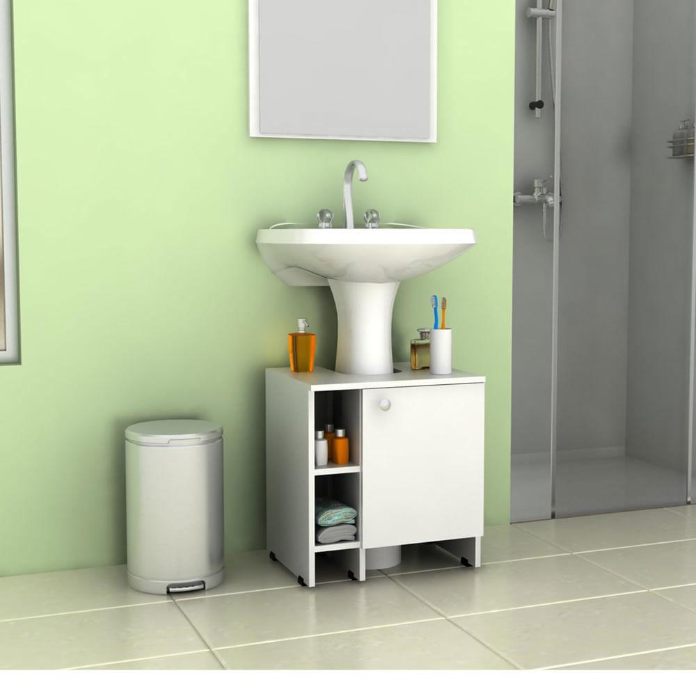 Baño Infantil Corona:Mueble para Baño TuHome Mueble Para Lavamanos Bath 47-A Blanco
