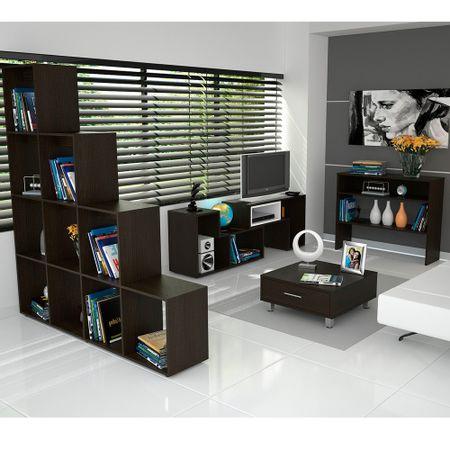 Rack---Biblioteca---Mesa-Arrimo---Mesa-Centro-Beijing-Wengue---Oferta-