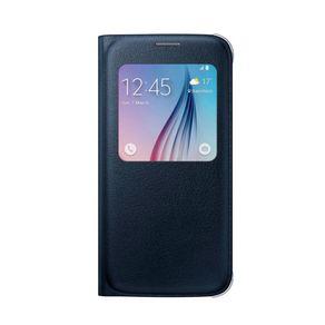 Carcasa-Samsung-Galaxy-S6-View-Cover-Pu-Negra