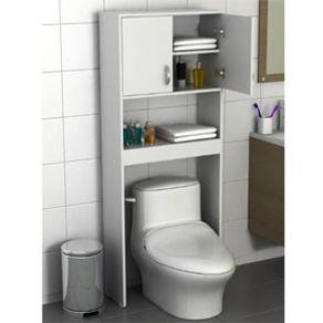 Mueble para ba o tuhome optimizador bath 63 a blanco - Mueble para encima del inodoro ...