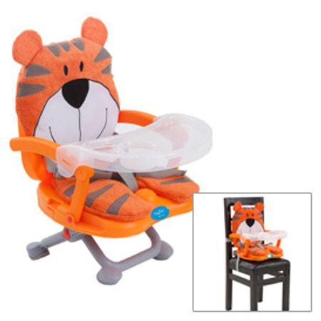 Silla-de-comer-Naranja-BabyWay-