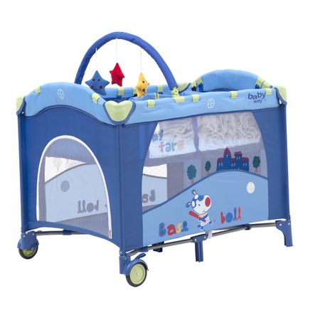 Cuna-Pack-Play-Azul-BabyWay-