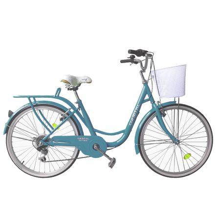 Bicicleta-Aro-26-Orbital-City-Rider-Turquesa