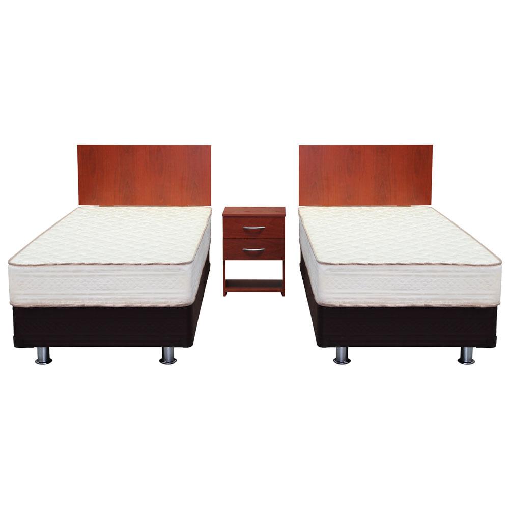 cama americana duplex 1 plaza maderas purranque mantahue