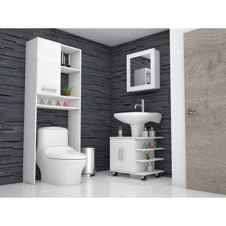 Combo-TuHome-Botiquin-Bath-47-B---Optimizador-Lavamanos-55---Bath-26-Blanco