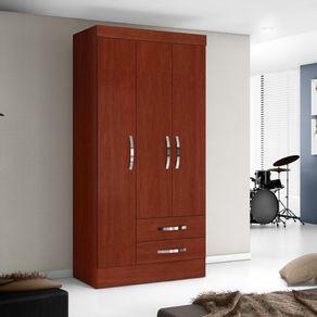 Closet-Roch-3-Puertas-2-Cajones-Caoba-