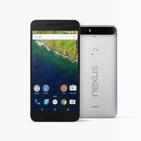 Smartphone-Huawei-Nexus-6P-Silver