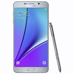 Smartphone-Samsung-Note-5-Silver