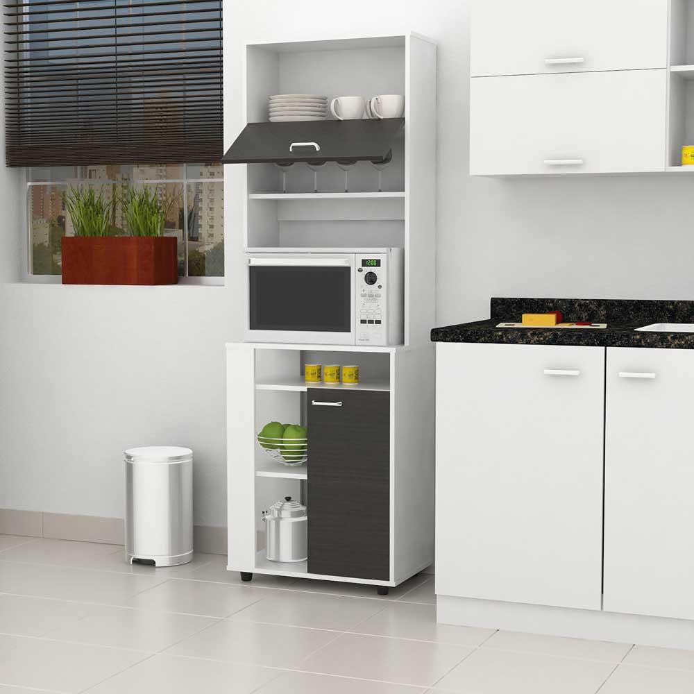 Mueble alto de cocina blanco ideas for Muebles altos de cocina ikea