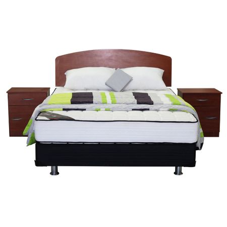 Box-Americano-2-Plazas-Mantahue-M-1000---Set-Textil---Set-de-Maderas-Pucon