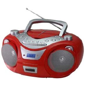 Radio-Irt-RCD1890-Rojo-Cd-Cassette-Aux-Usb