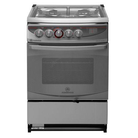 Cocina-4-Quemadores-Mademsa-Diva-645-Silver-66-litros