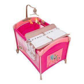 Cuna-Pack-And-Play-BabyWay-BW-612-Rosada
