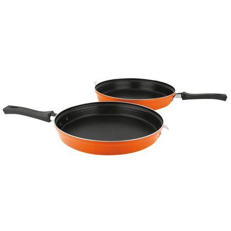 Sarten-Duo-Fantuzzi-Tortilla-Gourmet-24-Cms-Naranja