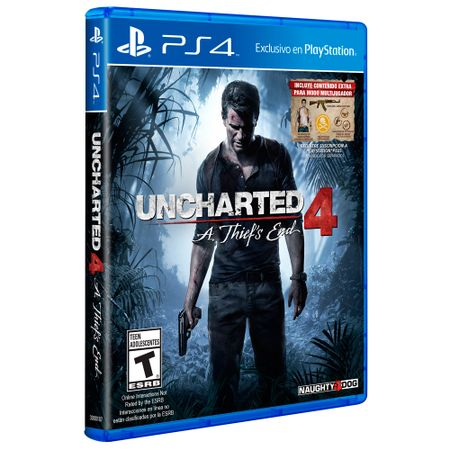 Juego-PS4-Sony-Uncharted-4