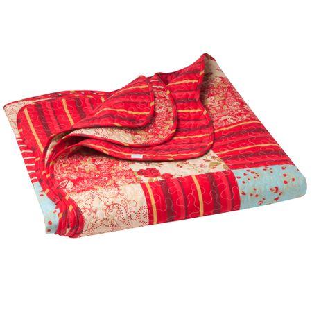 Quilt-Patch-Pinwheel-L-imagen-MF-15P-Rojo