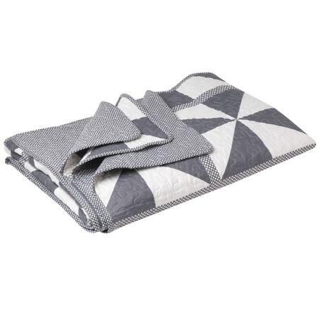Quilt-Patch-Pinwheel-L-imagen-MF-15P-Gray