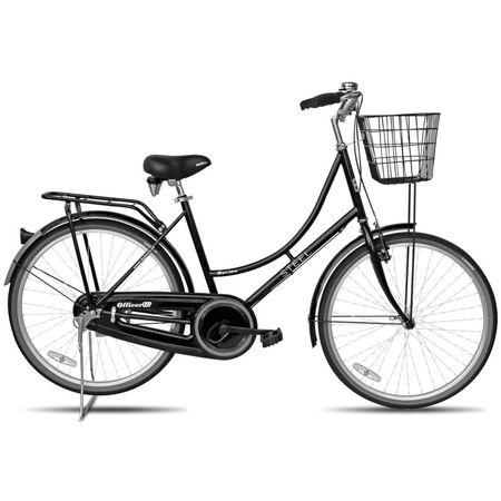 Bicicleta-Lahsen-Krom-Paseo-City-059-Negra-Canasto-Parrilla-B072610N