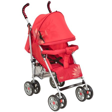 Coche-Paraguas-BW-111-Rojo-Baby-Way