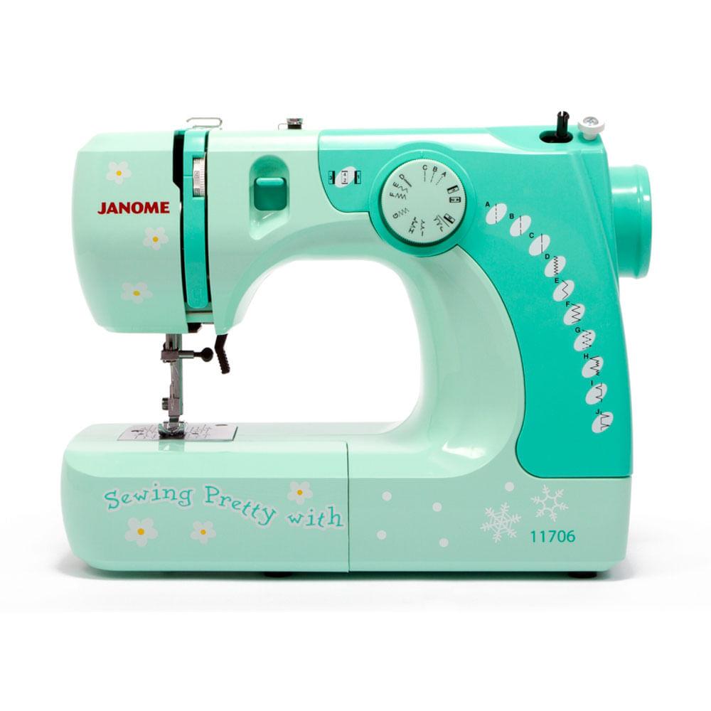 M quina de coser 11706r verde janome corona - Maquinas de coser ladys ...