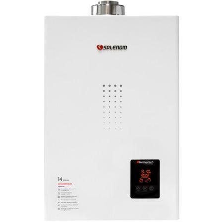 Calefon-Ionizado-Splendid-GN-Templatech-Full-Control-Blanco-Tiro-Forzado-14-Litros