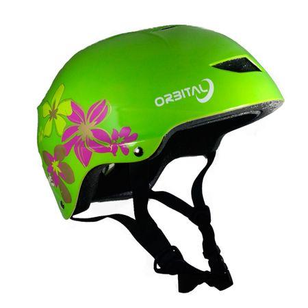 casco-talla-m-orbital-urbano-street-verde-flores