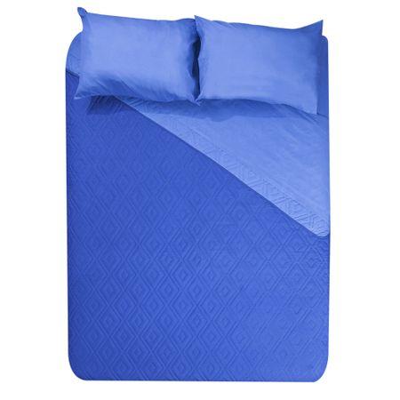 set-quilt-2-plazas-5-piezas-bicolor-depht