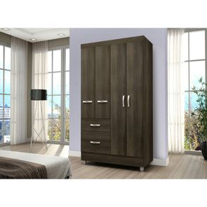 closet-4-puertas-2-cajones-favatex-lituania-tabaco