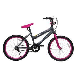 Bicicleta-Aro-20-Geolander-Niña-Teen-Girl-Negro-Fucsia