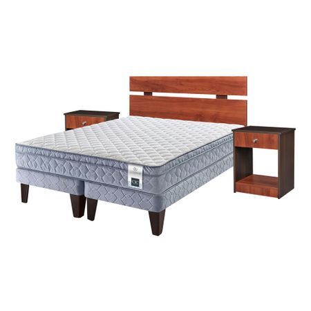 Cama-Europea-Base-Dividida-2-Plazas-Cic-Essence-5---Set-de-Maderas-Cherry-Choc