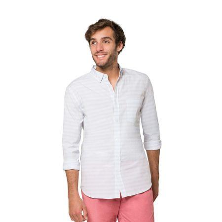 Camisa-Franjas-White