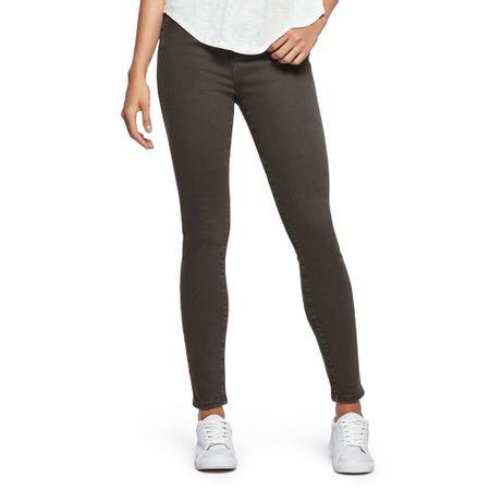 Jeans-Color-High-Rise-Skinny-Militar