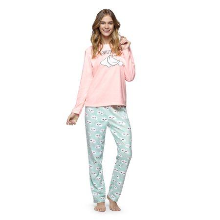 Pijama-Polar-con-Bordado-Coral-Fluor-
