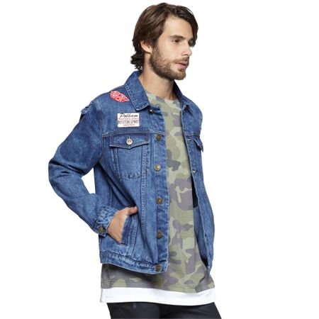 Chaqueta-Denim-Destroyed-Blue