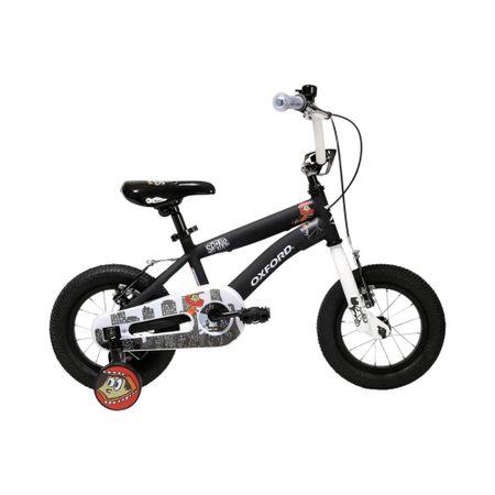 bicicleta-oxford-aro-12-spine-negro-blanco-bf1219