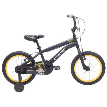 bicicleta-oxford-aro-16-spine-negro-amarillo-bf1619