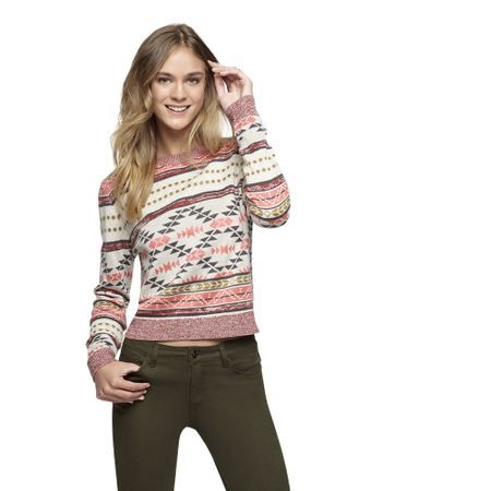 Sweater-Basico-Cuello-Redondo-Print-Fucsia