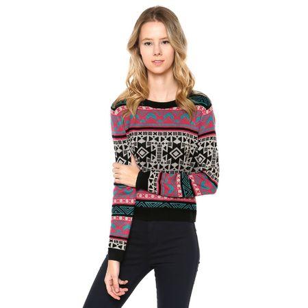 Sweater-Print-Gris-