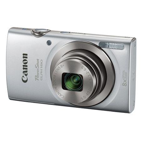 Camara-Canon-PowerShot-ELPH-180-Silver