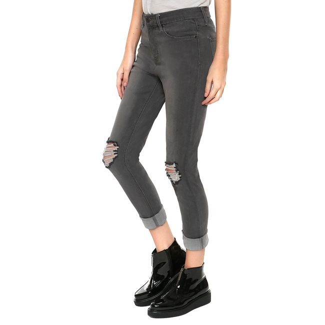 Jeans-Destroyed-Rodilla-Gris-