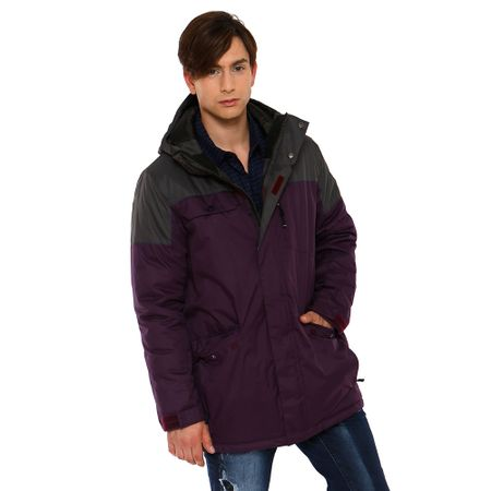Parka-Bicolor-Charcoal-Dark-Grape-