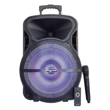 Parlante-Fujitel-Karaoke-BT-15-con-luces
